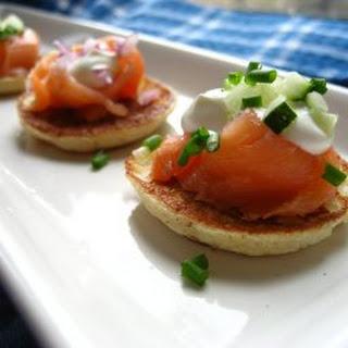 Potato Pancakes or Blinis