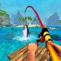 Boat Fishing Simulator: Salmon Wild Fish Hunting icon