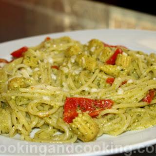 Parsley Pesto Pasta