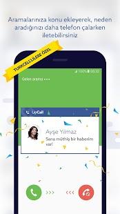 UpCall Bilinmeyen&Spam Numara Screenshot