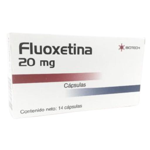 Fluoxetina Biotech 20 mg x 14 Capsulas