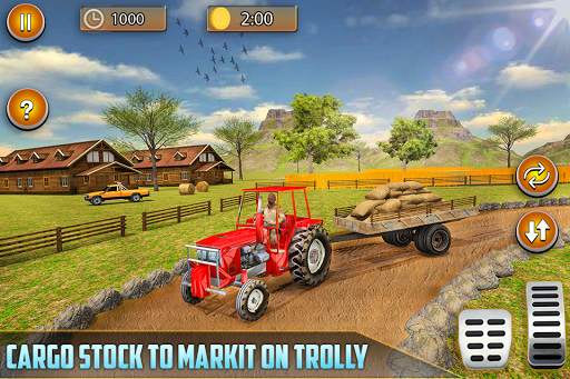 American Real Tractor Organic Farming Simulator 3D apktram screenshots 10