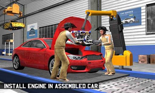Car Maker Factory Mechanic Sport Car Builder Games 1.12 screenshots 4
