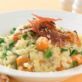 Sweet Potato and Rosemary Risotto.