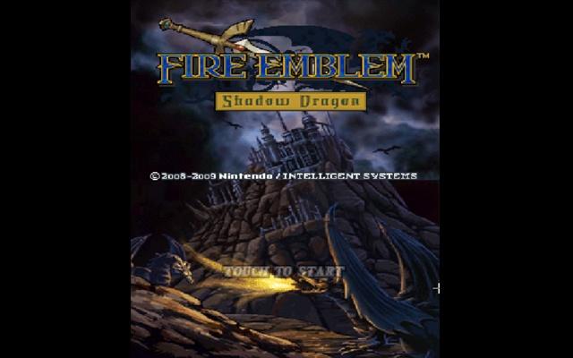 Fire Emblem Shadow Dragon Game