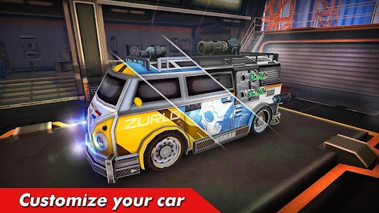 Overload Twisted Action: PvP Cars Racing Shooter 9