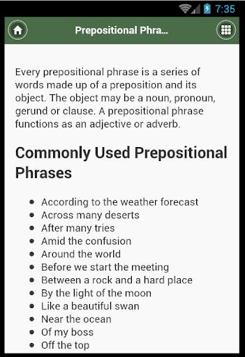 English Grammar- Preposition