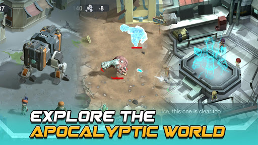 Strange World - Offline Survival RTS Game apkmr screenshots 5