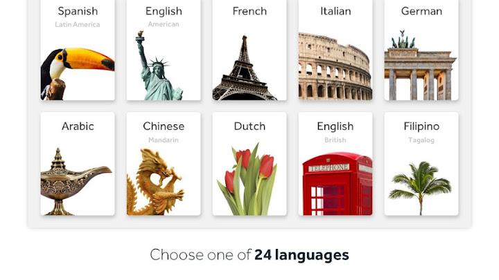 Rosetta Stone: Learn Languages Android App Screenshot