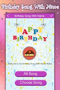 Happy B'day Song with Name - náhled