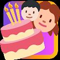 Custom Birthday Cards icon