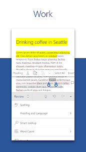 Microsoft Word APK: Write, Edit & Share Docs on the Go 3