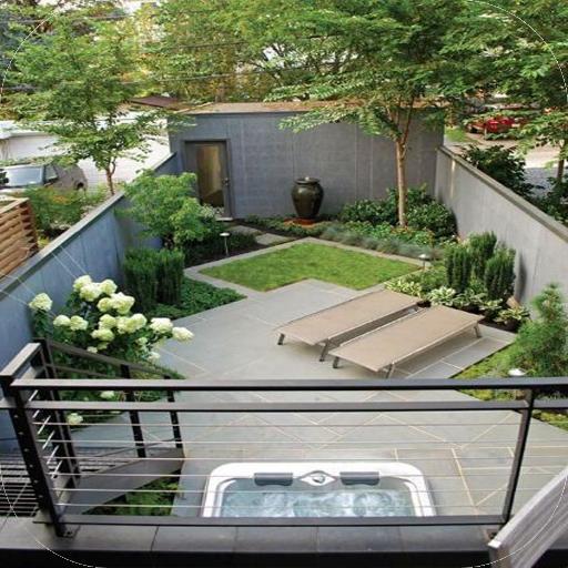 ideas de paisajismo de bajo mantenimiento en el patio trasero Ideas Del Diseo Del Patio Trasero Apps En Google Play