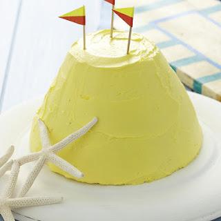 Sand Castle Cake.