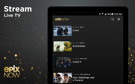 EPIX NOW: Watch TV and Movies screenshot 9