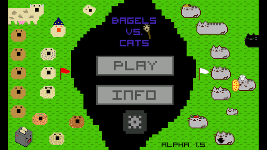 Bagels vs. Cats - náhled