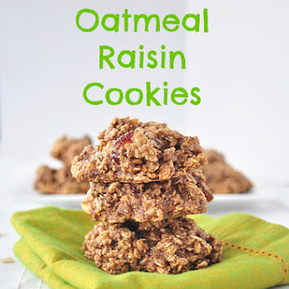 Gluten Free Oatmeal Raisin Cookies Recipe