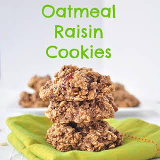 Gluten Free Sugar Free Oatmeal Raisin Cookies Recipes.