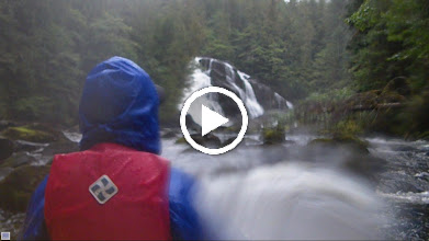 Video: My low-quality video of the waterfall, taken with my waterproof point-and-shoot.