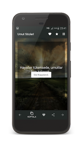 Umut Su00f6zleri 1.0 screenshots 4