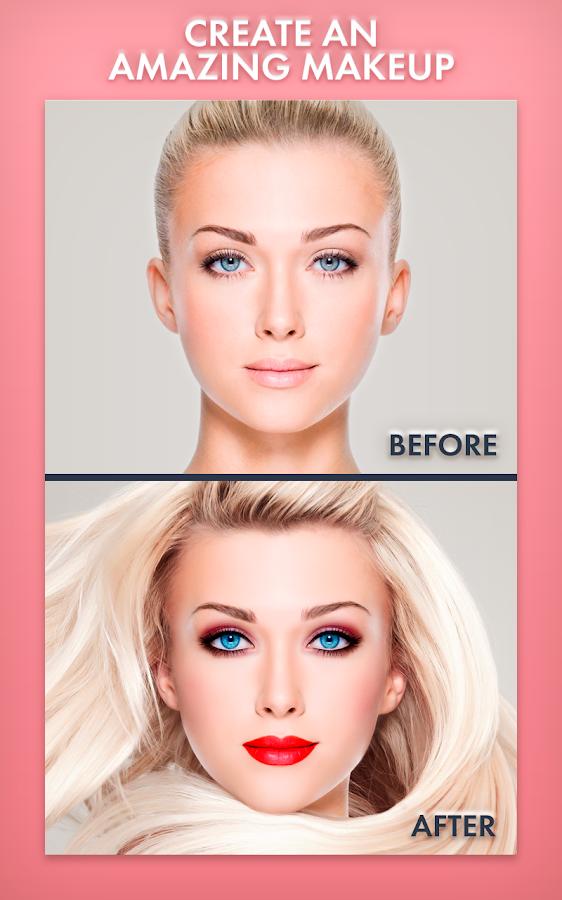 editor de fotos maquillaje automatico