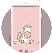 Theme for cute pony wallpaper icon
