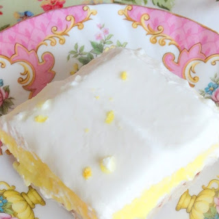 Sweet Lemon Lush Dessert.