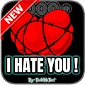 Hate Quotes - I hate You Messages, Status Thoughts