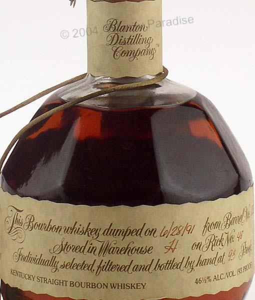 Logo of Blanton Distilling Co.