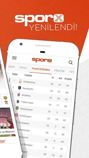 Sporx Spor Haber & Canlı Skor 4.22.09 screenshots 2