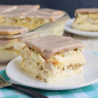 Banana Eclair Cake