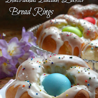 Individual Italian Easter Bread Rings...Easy Step by Step Directions