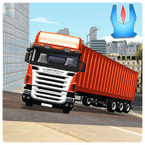 Cargo Trailer Transport Truck for PC and MAC