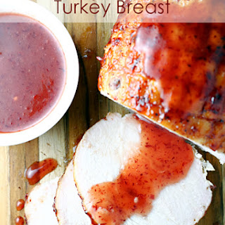Cranberry Pepper Jelly Turkey Breast