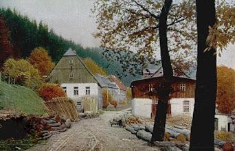 Photo: Wünschendorf im Erzgebirge  Sachsen  Hammermühle Neunzehnhain  Postkarte um 1920