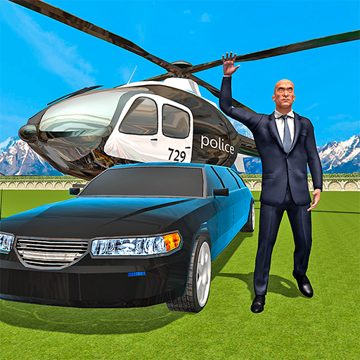 Russian President Limo & Heli
