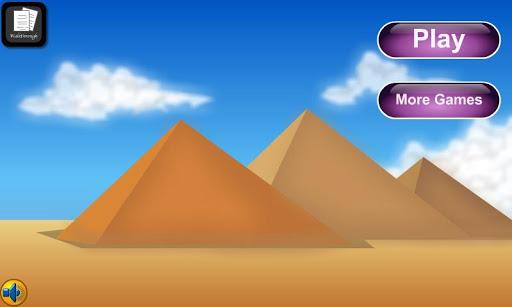 アドベンチャーはギザのピラミッドをエスケープ
