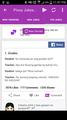 Pinoy Jokes Extreme 07.01 screenshots 1