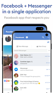 Maki: Facebook and Messenger in one awesome app 3.4.5 Sakura (115) (Arm64-v8a + Armeabi-v7a + x86 + x86_64) (AdFree)