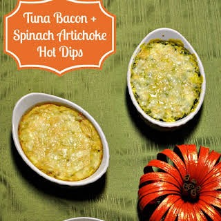 Creamy Tuna & Bacon Dip.
