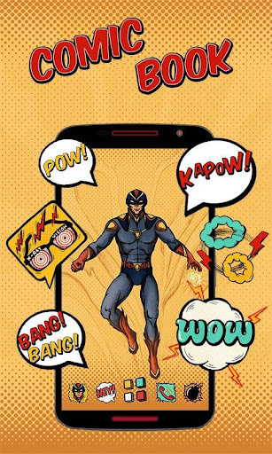 免費下載個人化APP|Comic Book GO Launcher app開箱文|APP開箱王
