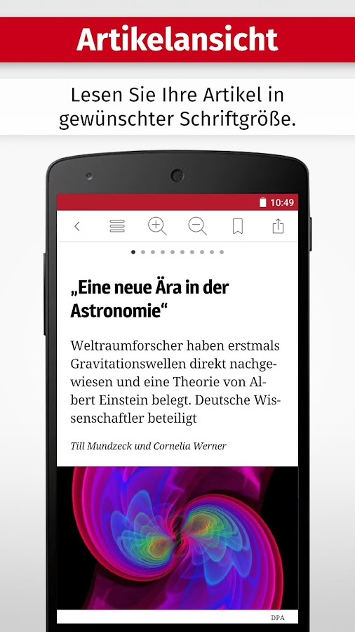 WR ZEITUNG DIGITAL- screenshot