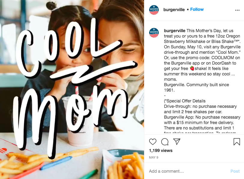 burgerville-instagram-mothers-day-dining-promotion
