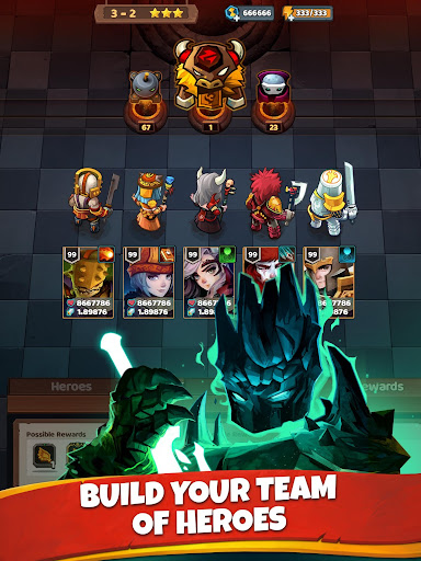 Battle Bouncers - RPG Legendary Brick Breakers modavailable screenshots 14