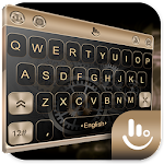 Keyboard Theme for Gold color 6.3.22.2019 (AdFree)