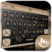 HUAWEI Gold P10 Keyboard Theme