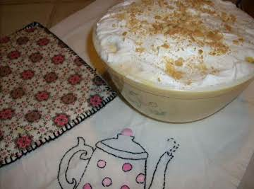 Old-fashioned Cooked Banana Pudding