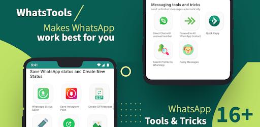 نتيجة بحث الصور عن WhatsTool: #1 Tools & tricks for WhatsApp