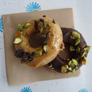 Cajeta Cardamom Chocolate Donuts
