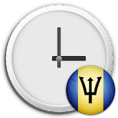 Barbados Clock & RSS Widget